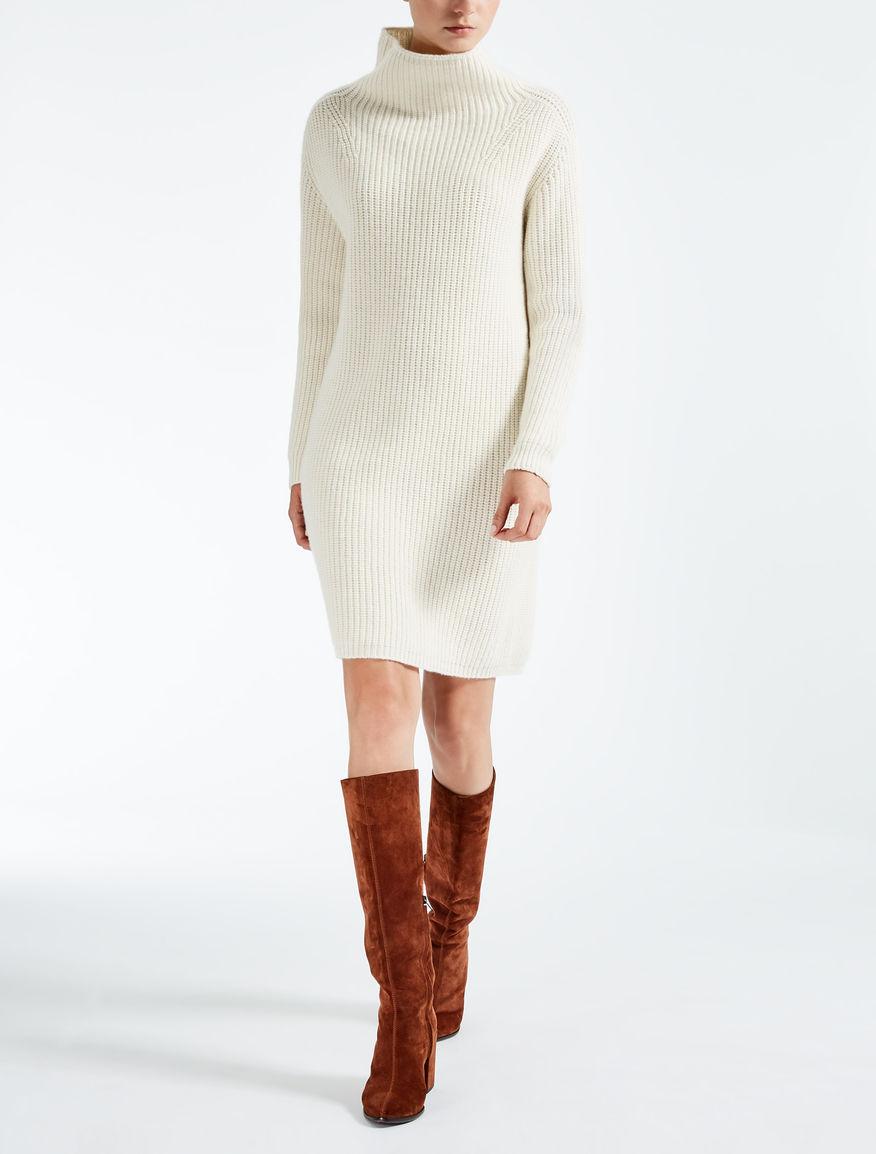 Vestido de lana y cachemira