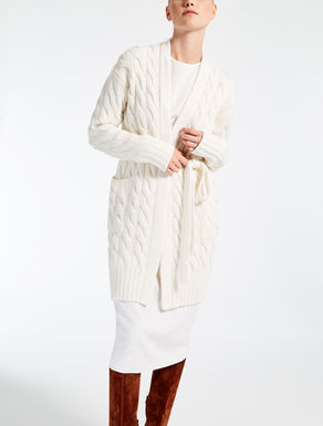Cárdigan de lana y cachemira