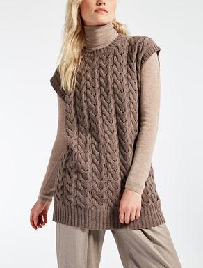 Gilet en laine et cachemire