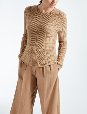 Wool and camel pullover