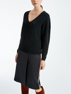 Wool and camel sweater