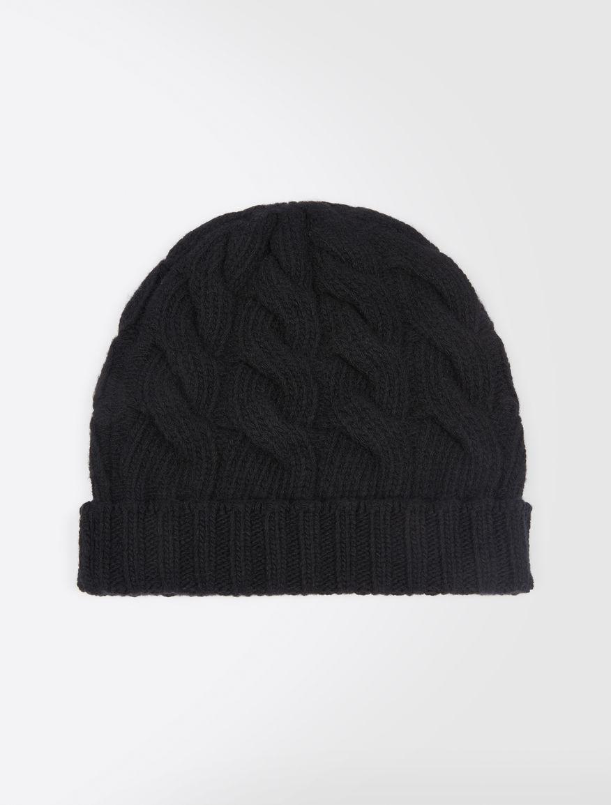 Chapeau en laine et cachemire