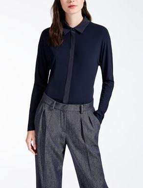 Bluse aus Jersey