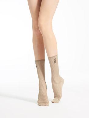 Socks in viscose