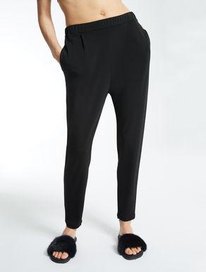 Crêpe jersey trousers