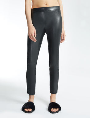 Coated fabric leggings