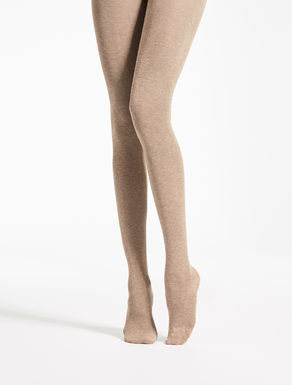 Cashmere and viscose tights