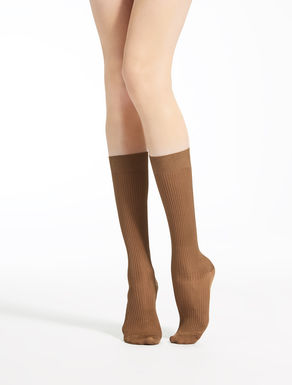 Viscose knee-high socks