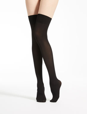 Over-the-knee 50 denier tights