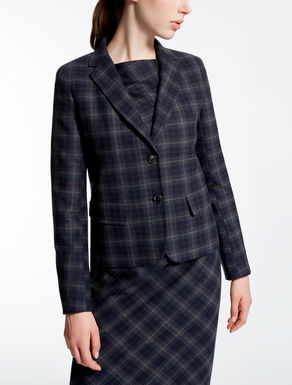 Wool flannel jacket