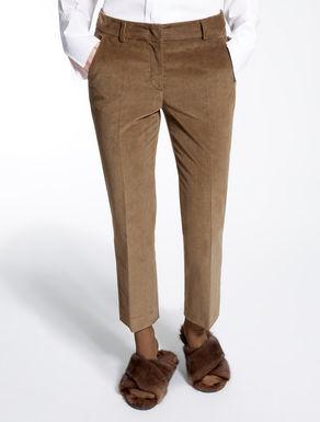 Pantaloni in velluto