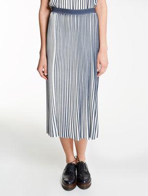 ストレッチ ビスコースニット スカート