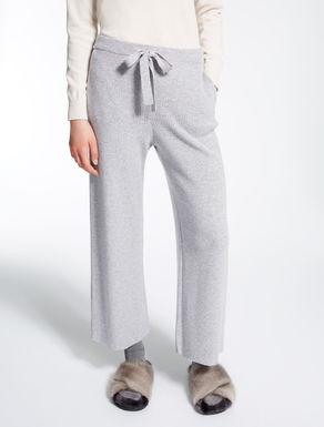 Pantaloni in viscosa, lana e cachemire