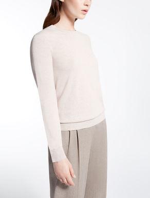 Maglia in seta e lana