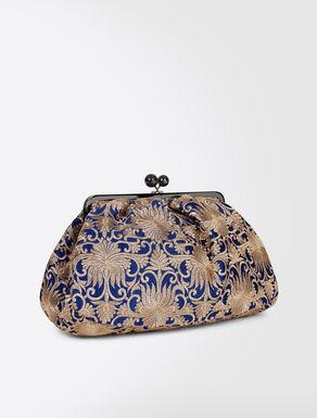 Maxi Pasticcino bag in brocade fabric