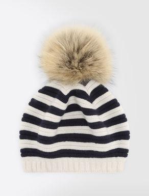 Wool blend beret hat