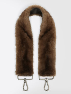 Mink shoulder strap