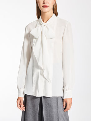 Silk crêpe de chine shirt