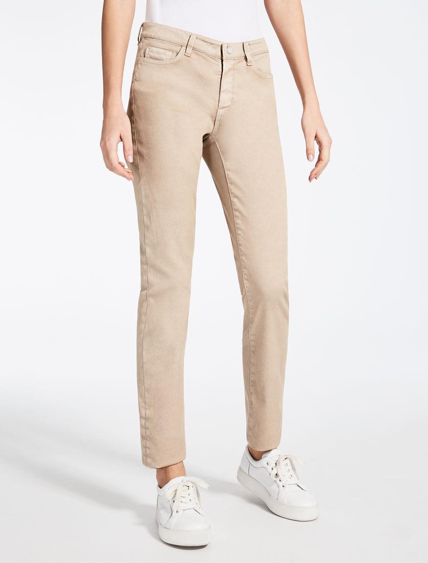 Pantalon en sergé de coton