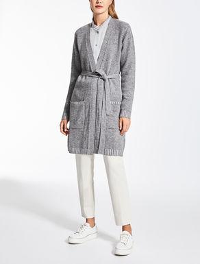 Cardigan in cachemire e lana