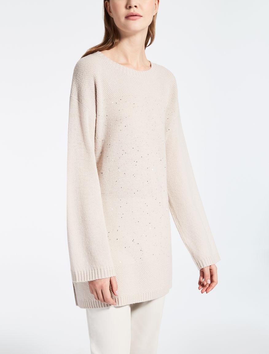 Maglia in cachemire e lana