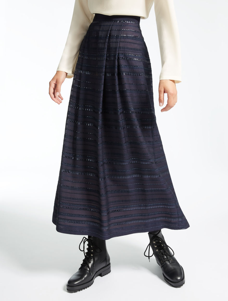 Viscose gauze skirt