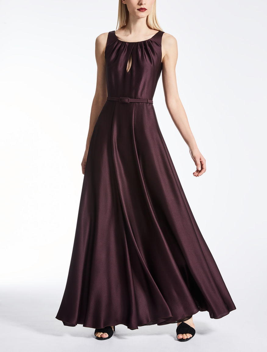 Silk satin dress