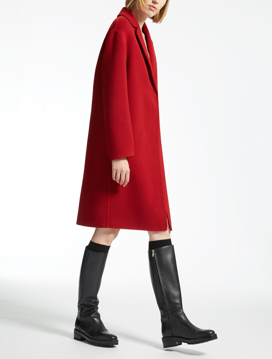 Pure wool coat