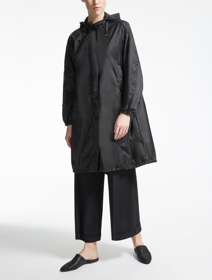 Drop-proof taffeta parka