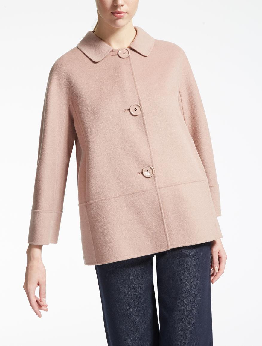 Jacke aus Wolle und Angora