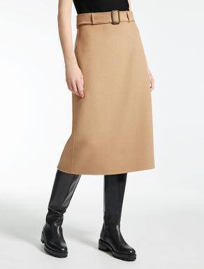 ウール アンゴラフレア スカート