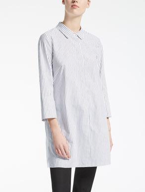 Camisa de algodón de rayas