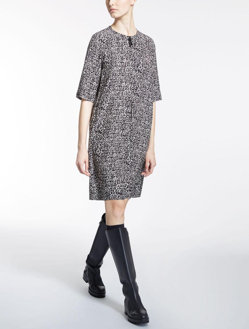 ピュア シルクドレス
