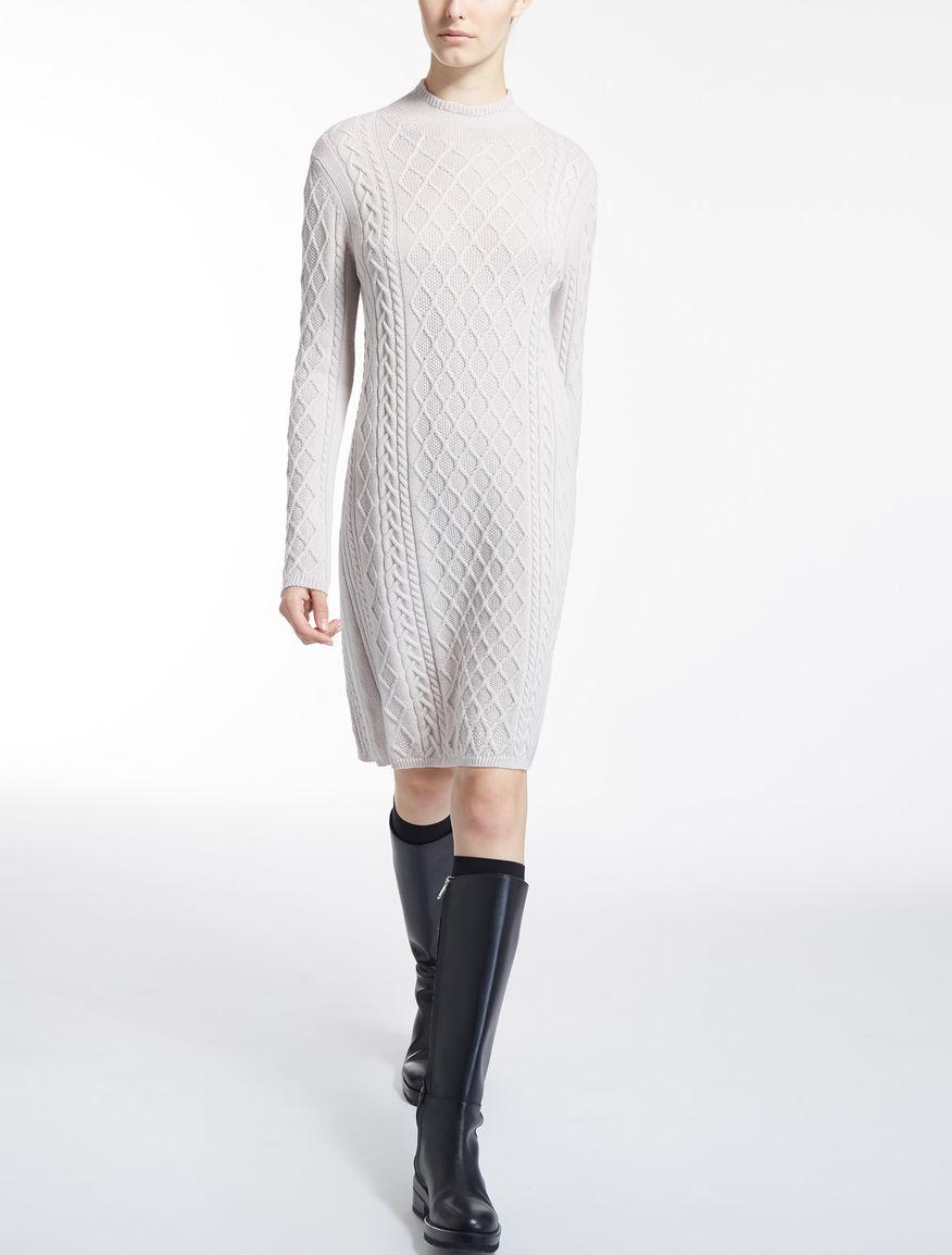 ヴァージン ウールニット ドレス