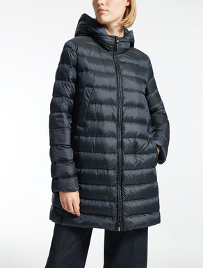 Nylon canvas down jacket