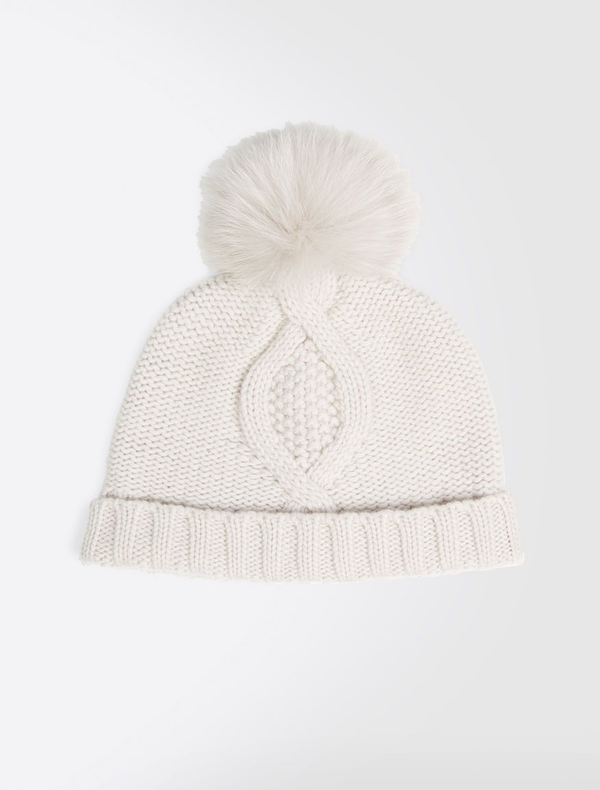 Wool and cashmere hat