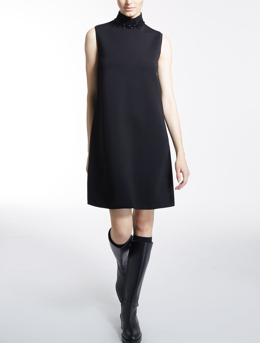 テクニカル ビスコースジャージー ドレス
