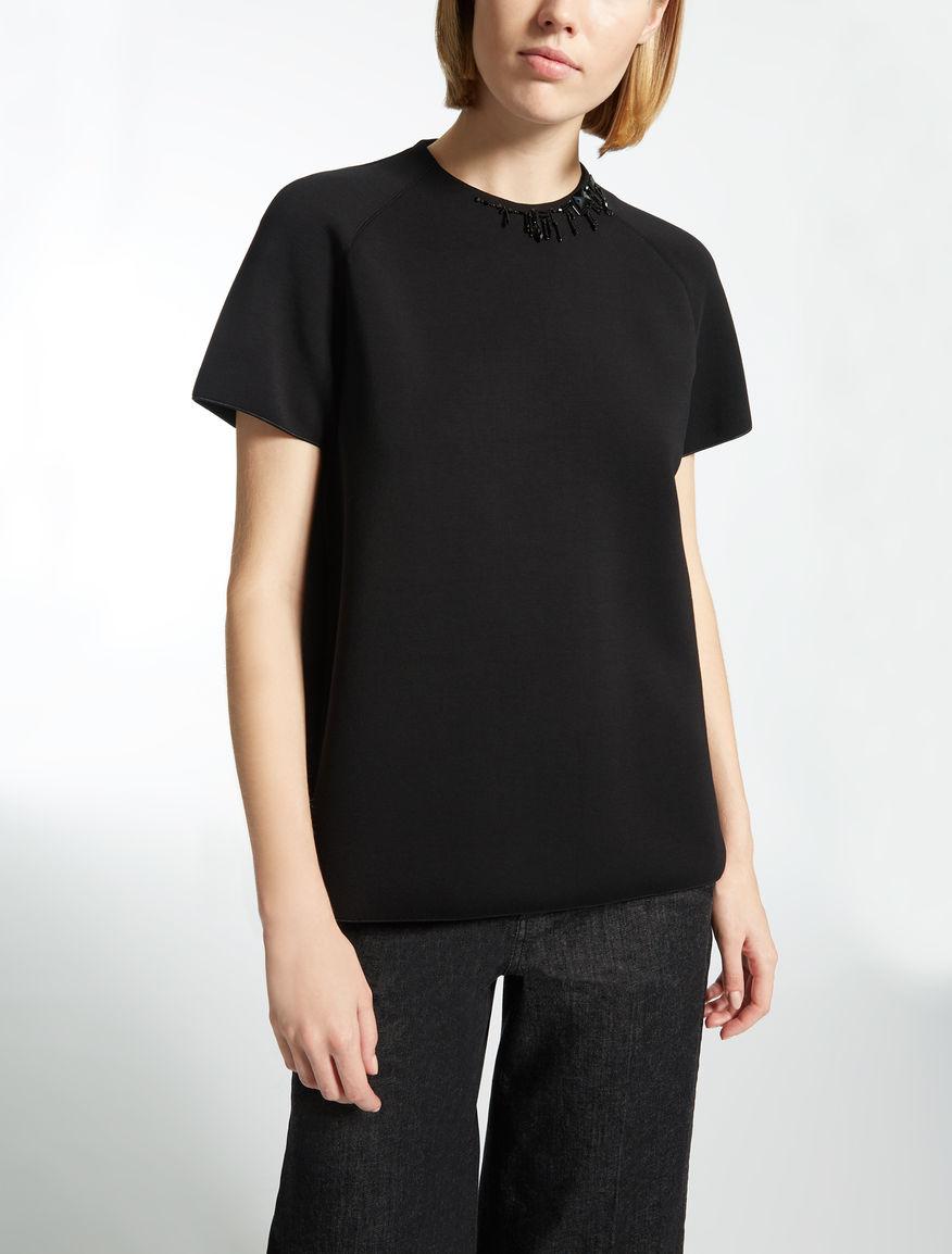 T-shirt en jersey de viscose