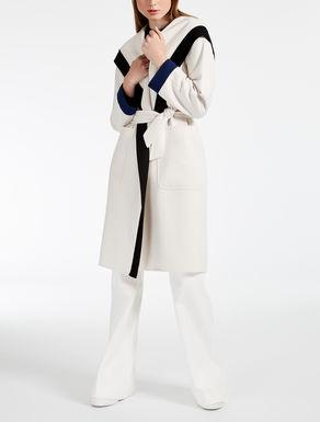 Abrigo de lana y cachemira