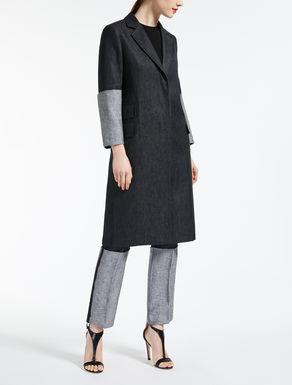 Linen satin coat