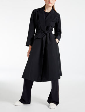 Drop-proof faille duster coat