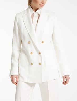 Linen twill blazer