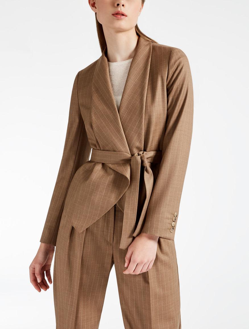 Wool Batavia jacket