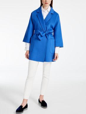 Giaccone in lana e cachemire