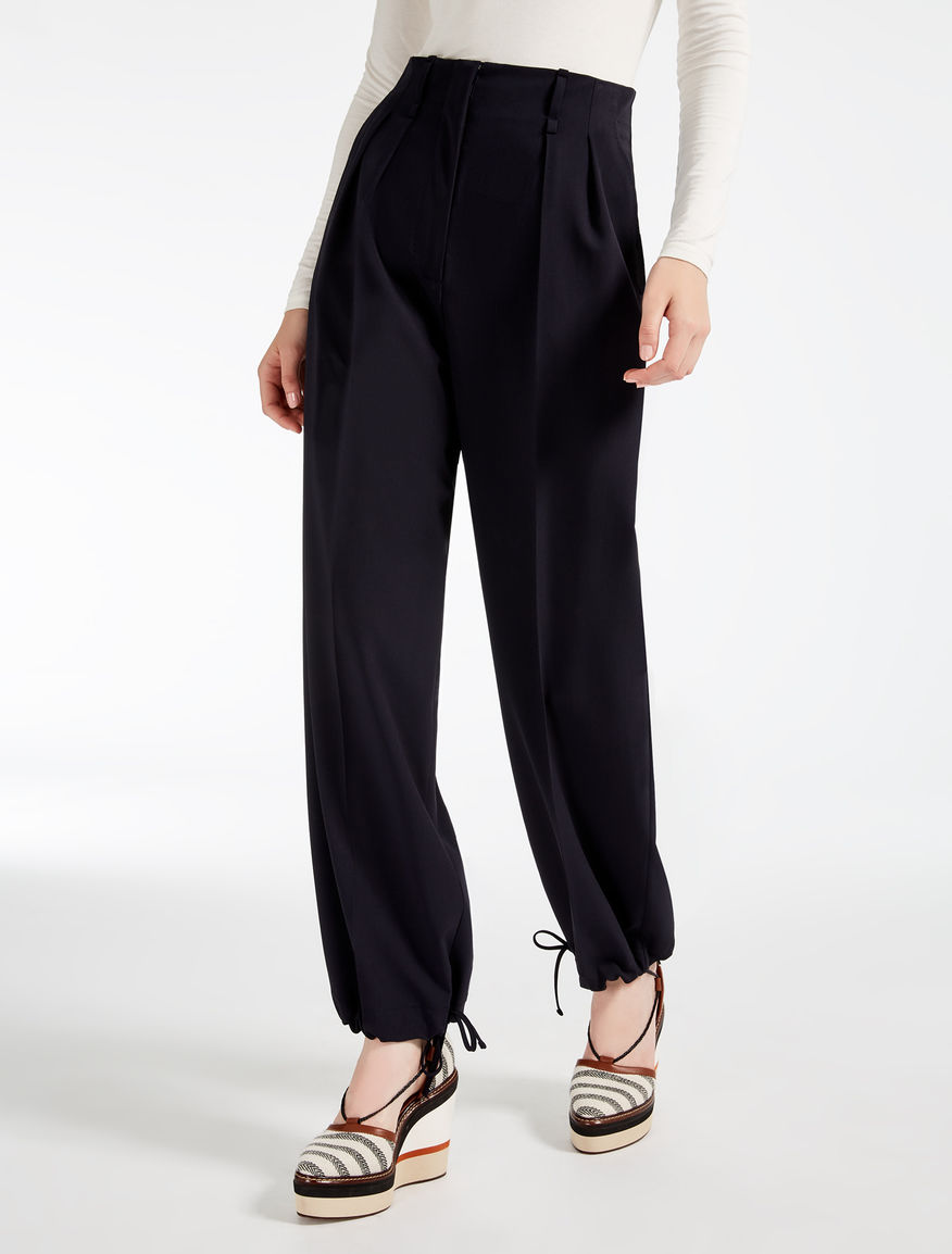Wool trousers