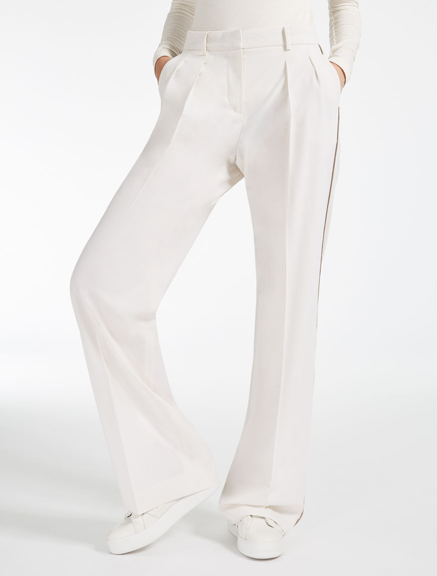 Hose aus Wolle