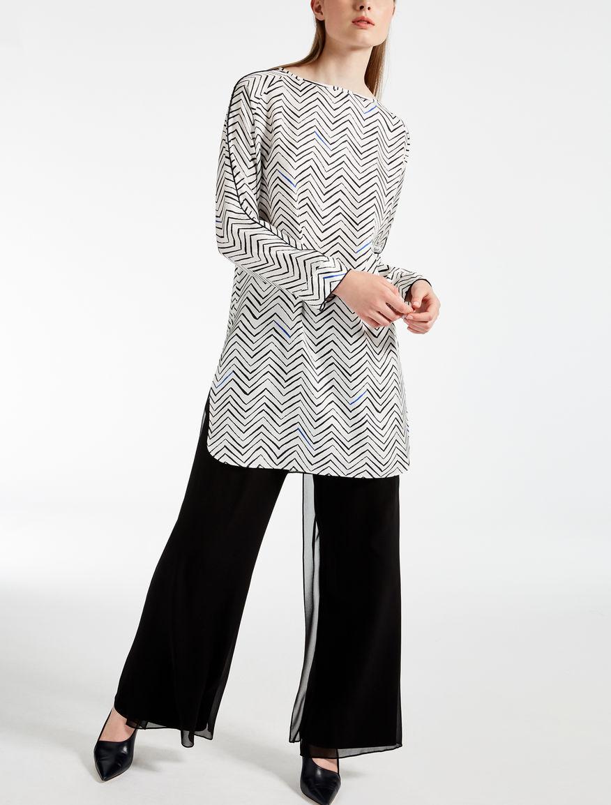 Orosei silk tunic Max Mara Official Site For Sale s2tPWI