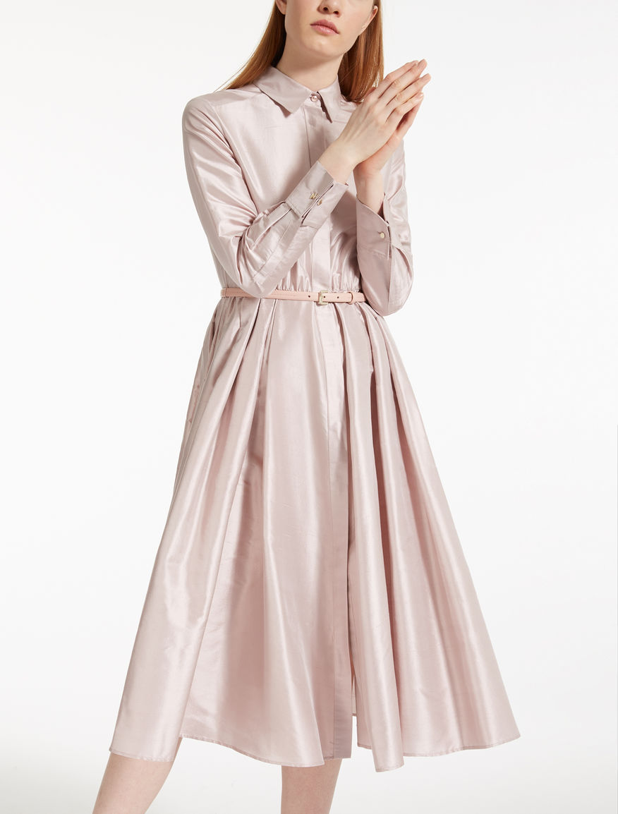 Silk Shantung dress