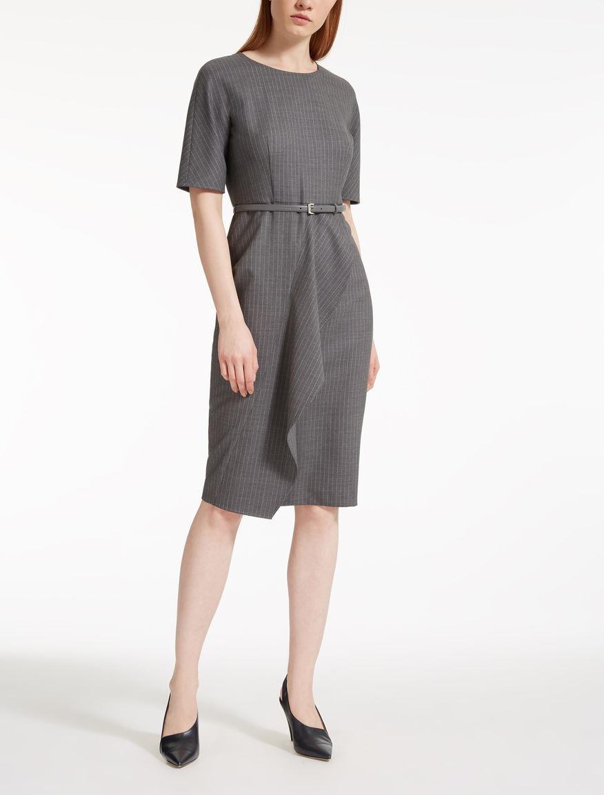 Wool Batavia dress