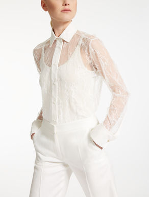 Chantilly lace shirt